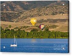 Rocky Mountain Balloon Festival Acrylic Print