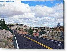 Route 12 - Utah Acrylic Print by Dana Sohr