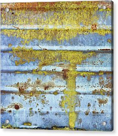 Rusty Metal Acrylic Print by Tom Gowanlock