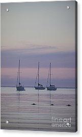 3 Sailboats Acrylic Print