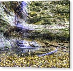 Saint Louis Canyon At Starved Rock Acrylic Print
