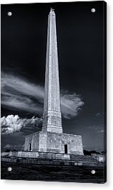 San Jacinto Monument One Sky One Star Acrylic Print by Joshua House
