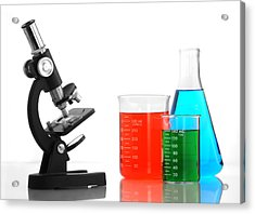 Science Of Color Acrylic Print