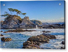Sea Side Acrylic Print by Tad Kanazaki