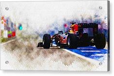 Sebastian Vettel Acrylic Print