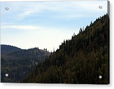Seeley Lake In Montana Acrylic Print by Larry Stolle