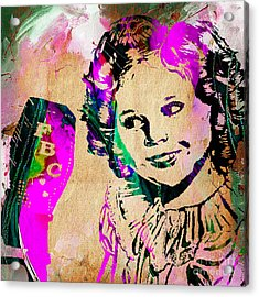 Shirley Temple Collection Acrylic Print