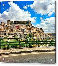 #sicilia #sicily #italia #italy #sky Acrylic Print