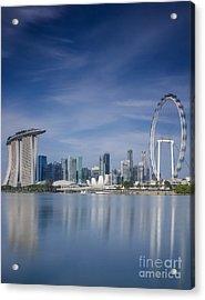 Singapore City Acrylic Print