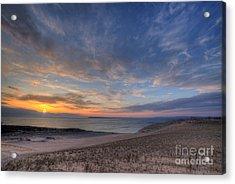 Sleeping Bear Dunes Sunset Acrylic Print