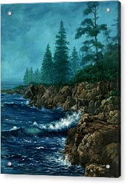 Acrylic Print featuring the painting Solitude by Lynne Wright