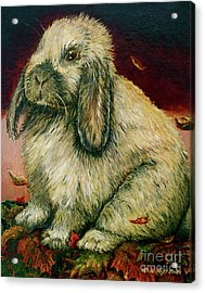 Some Bunny Is A Honey Acrylic Print