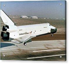 Space Shuttle Prototype Testing Acrylic Print