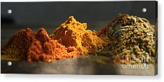 Spice Acrylic Print by Jan Wolf