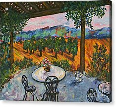 Spot To Wine And Dine Acrylic Print by Emily Michaud