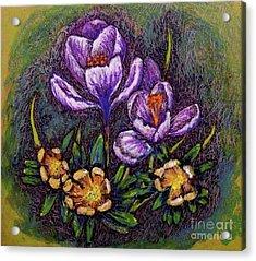 Spring Acrylic Print by Linda Simon