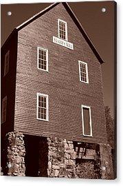 Starr's Mill Ga Acrylic Print by Jake Hartz