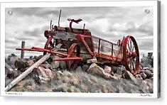 Stonewall Wagon Acrylic Print by Richard Bean