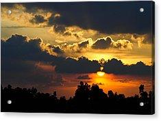 Sunset Acrylic Print by Izwan Amrul