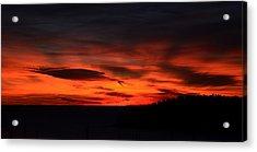 Sunset Rovinj Acrylic Print
