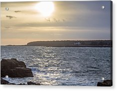 Acrylic Print featuring the photograph Sunset Schoodic Peninsula by Trace Kittrell
