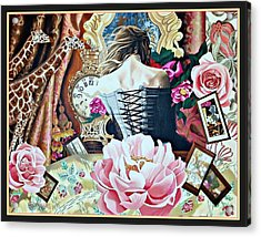 Sweet Malia Acrylic Print