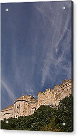 Tarquinia The Walls And The Apse Acrylic Print