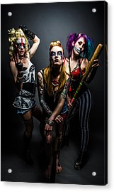 Team Violence Acrylic Print by Kyle James-Patrick