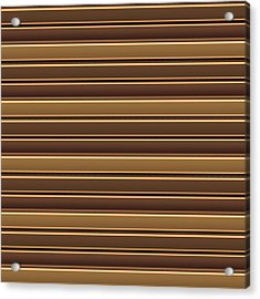 Template Diy Background Sparkle Golden Brown Stripes Crystal Stone Blank Sheet Art Download Lowprice Acrylic Print