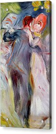 The Dance In The Country Acrylic Print by Pierre Auguste Renoir