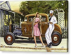 The Sailor's Girl Acrylic Print