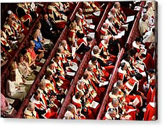 The State Opening Of Parliament Acrylic Print by WPA Pool