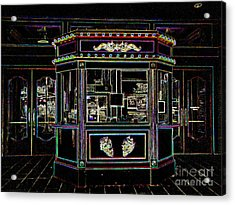 The Tivoli In Neon Acrylic Print