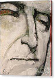 3.  Thomas Jefferson Acrylic Print by Cindy Suter