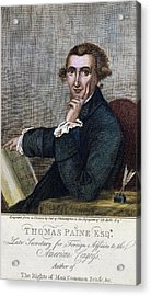 Thomas Paine (1737-1809) Acrylic Print by Granger