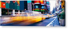 Times Square, Nyc, New York City, New Acrylic Print