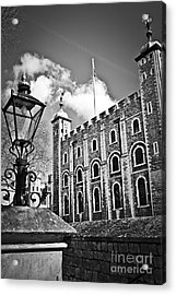 Tower Of London Acrylic Print by Elena Elisseeva