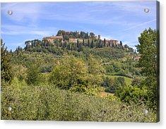 Tuscany - Montepulciano Acrylic Print by Joana Kruse
