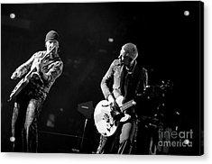 U2 Acrylic Print by Jenny Potter