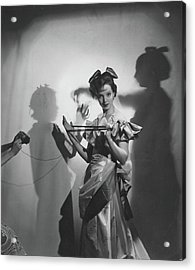 Vogue  Acrylic Print by Cecil Beaton