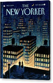 New Yorker October 25th, 2010 Acrylic Print
