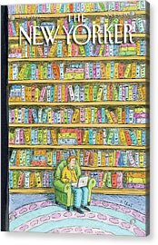 New Yorker October 18th, 2010 Acrylic Print by Roz Chast