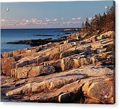 Usa, Maine, Acadia National Park, Mt Acrylic Print by Adam Jones