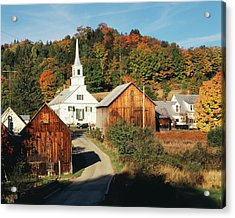 Usa, Vermont, Northeast Kingdom, Waits Acrylic Print by Walter Bibikow