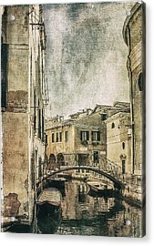 Venice Back In Time Acrylic Print