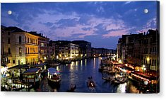 Acrylic Print featuring the photograph Venice by Barbara Walsh