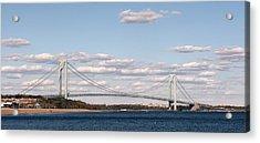 Verrazano Narrows Bridge Acrylic Print