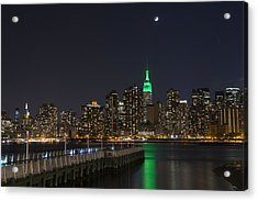 View From Gantry Plaza State Park Acrylic Print