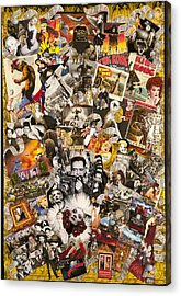 Vintage Hollywood Collection Acrylic Print