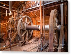 Acrylic Print featuring the photograph Vintage Power by Lawrence Burry